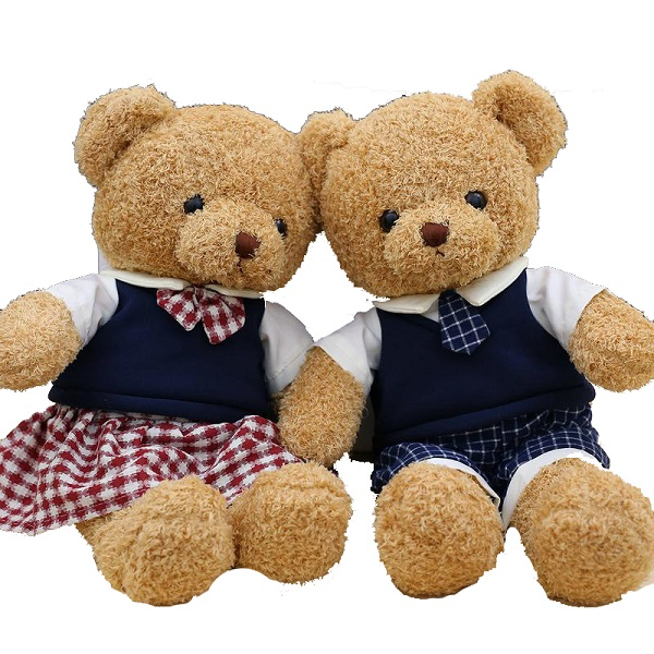 Campus Uniform Teddy Bears for Kids Wholesale from China