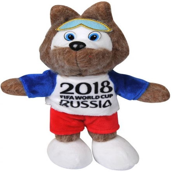 FIFA World Cup 2018 Stuffed Plush Toy Mascot