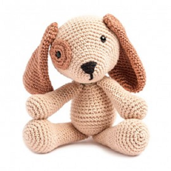 Amigurumi crochet puppy knitting soft toys
