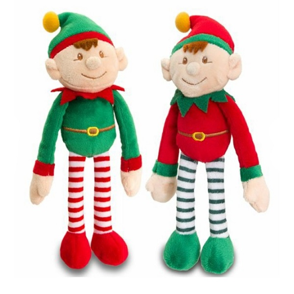 Custom China made Christmas design soft doll toy